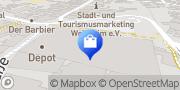 Karte Vodafone Shop Weinheim, Deutschland