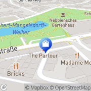 Karte Apotheke am Eschenheimer Turm Frankfurt Flughafen, Deutschland