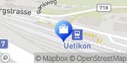 Karte migrolino Shop Uetikon am See, Schweiz