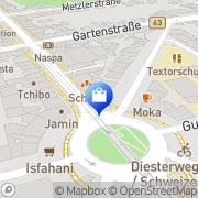 Karte Schweizer-Apotheke Frankfurt Flughafen, Deutschland