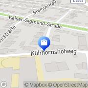 Karte Praxis für Logopädie Sonja Pasch Frankfurt am Main, Deutschland