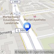 Karte Marien-Apotheke Frankfurt am Main, Deutschland