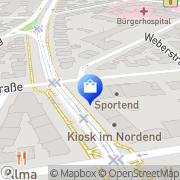 Karte Schwarzburg-Apotheke Frankfurt Flughafen, Deutschland