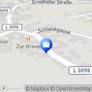 Karte Egner Seeheim-Jugenheim, Deutschland