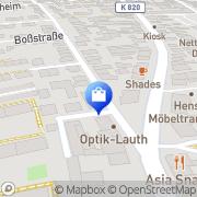 Karte Ronneburg-Apotheke Frankfurt Flughafen, Deutschland