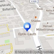Karte Ronneburg Frankfurt am Main, Deutschland
