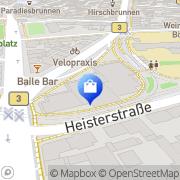 Karte Flora-Apotheke Frankfurt Flughafen, Deutschland