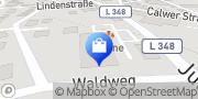 Karte Netto Filiale Neubulach, Deutschland