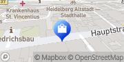 Karte Telekom Shop Heidelberg, Deutschland