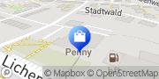 Karte PENNY-Markt Discounter Gießen, Deutschland