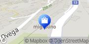 Map migrolino Shop Brissago, Switzerland