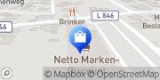 Karte Netto Filiale Löhne, Deutschland