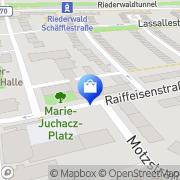 Karte Riederwald-Apotheke Frankfurt Flughafen, Deutschland
