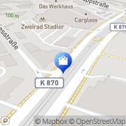 Karte Bundesverband Deutscher Apotheker Frankfurt am Main, Deutschland