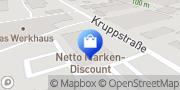 Karte Netto Filiale Frankfurt am Main, Deutschland