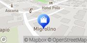 Map migrolino Shop Ascona, Switzerland
