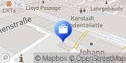 Karte Vodafone Shop Bremen, Deutschland