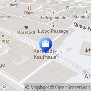 Karte WMF Bremen, Deutschland