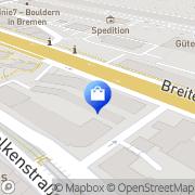 Karte Martin Freiwald Bremen, Deutschland