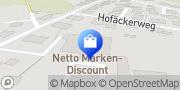 Karte Netto Filiale Rottenburg am Neckar, Deutschland