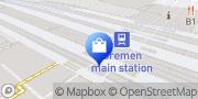 Karte Einkaufsbahnhof Bremen Hbf Bremen, Deutschland