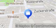 Karte Vodafone Shop Dieburg, Deutschland