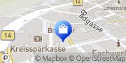 Karte Vodafone Shop Herrenberg, Deutschland