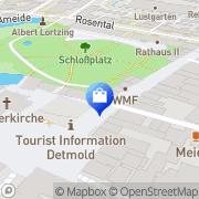 Karte WMF Detmold, Deutschland