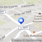 Karte Adler-Apotheke Rauschenberg, Deutschland