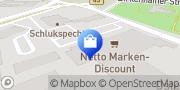 Karte Netto Filiale Hanau, Deutschland