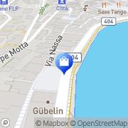 Map Ermenegildo Zegna Boutique Lugano, Switzerland