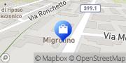Map migrolino Shop Lugano, Switzerland