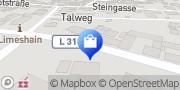 Karte Netto Filiale Limeshain, Deutschland