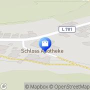 Karte Schloß-Apotheke Kalletal, Deutschland