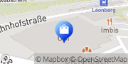 Karte OBI Markt Leonberg Leonberg, Deutschland