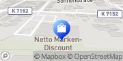 Karte Netto Filiale Albstadt, Deutschland