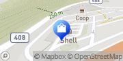 Map migrolino Shop Bellinzona, Switzerland