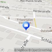 Karte GGS Gaswarntechnik & Sensorelektronik Albstadt, Deutschland