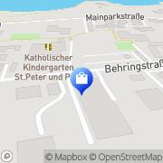 Karte OPS-SECURITY Mainaschaff, Deutschland