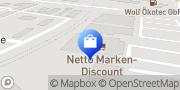 Karte Netto Filiale Mainaschaff, Deutschland