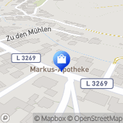 Karte Markus-Apotheke Freigericht, Deutschland