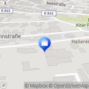 Karte Hailer Gelnhausen, Deutschland