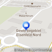 Karte EDEKA Bauer Elsenfeld, Deutschland