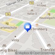 Karte Oster & Löschel GMBH Stuttgart, Deutschland