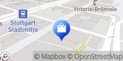 Karte Vodafone Shop Stuttgart, Deutschland
