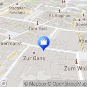Karte WMF Konstanz, Deutschland