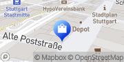Karte Apollo-Optik Stuttgart, Deutschland