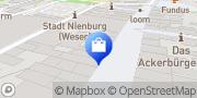 Karte Netto Filiale Nienburg (Weser), Deutschland
