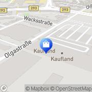 Karte Apollo-Optik Heilbronn, Deutschland