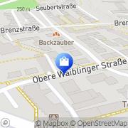 Karte Apotheke an der St. Anna-Klinik Stuttgart, Deutschland